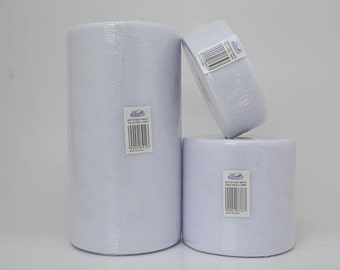 White tulle roll