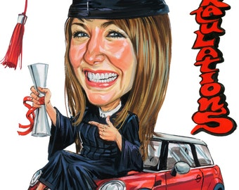 Graduation Caricature Gift Ideas