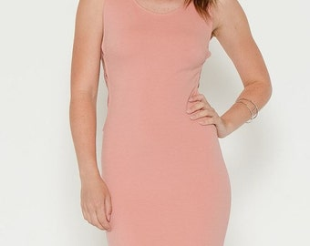 Pink Dress with Cutout Sides |lapis & Lace