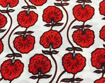 Beautiful 2.5 mtr handblock print cotton mul mul fabric