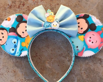 Tusm Fun Ears!  Tsum tsum Minnie ears,  Mickey ears headband tsum tsum