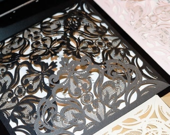 Laser Cut wedding Enclosures