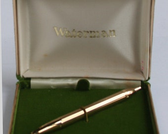 Waterman Fountain Pen GFT Lady Flair with case w9245 Close out Vintage Fountain Pen Vintage Waterman Pen