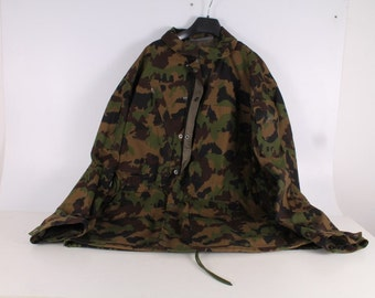 Original Unused Swiss Army Man Camo Jacket Shirt 2. N:52