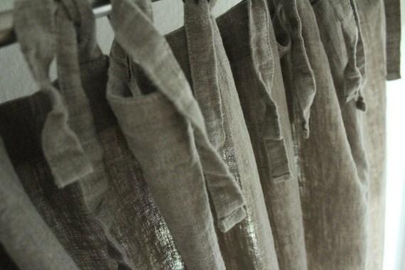vorhang leinen gardinen leinen fassadenelement vorh nge. Black Bedroom Furniture Sets. Home Design Ideas
