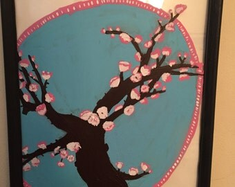 Bansai cherry blossom tree