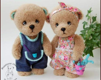 Dimka. Artist teddy bear