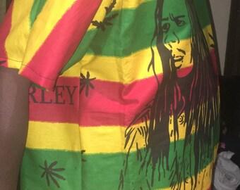 Rasta/Bob marley top/Weed top/Ethnic top/Jamaica shirt/Reggae shirt