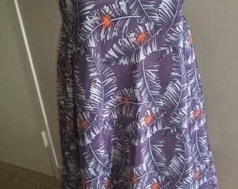 Purple wide robe, hippie Bohemian