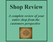 Etsy Shop Critique, SEO help, Shop review, Etsy shop analysis,