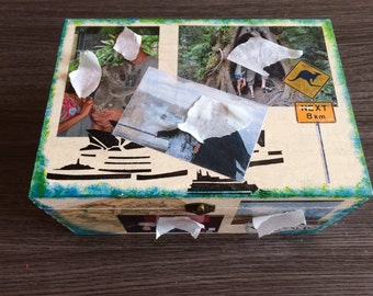 box with photo personalized