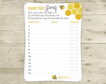 mommy to bee baby shower game name that song instant download