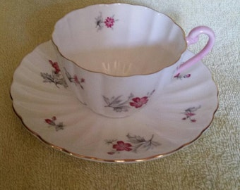 Shelley Tea Cup and Saucer Set #2505