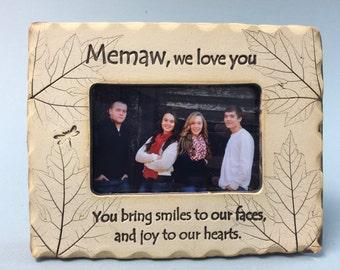 Memaw Frame, Memaw gift, best Memaw gift
