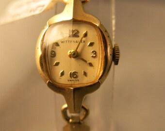 Longines Wittnauer 1930s Deco Ladies Watch