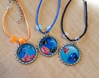 10 Pieces - Finding Dory - Necklaces, Bracelets Party favors