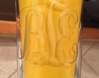 Initialed Glassware
