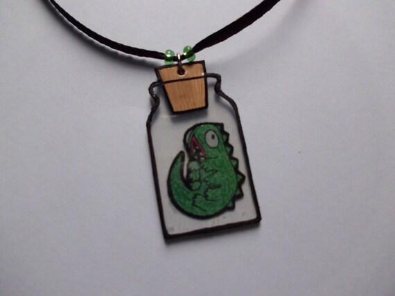 fullmetal alchemist pendant wormvy in a jar