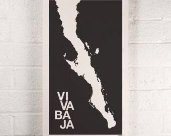 Viva Baja print
