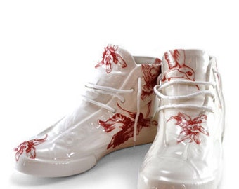 Ceramic High-Top Sneakers