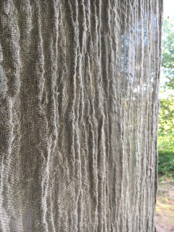 Linen Curtain Panel, Window Curtains, Sheer Curtains, Burlap ...