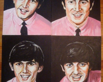 Early Beatles paintings