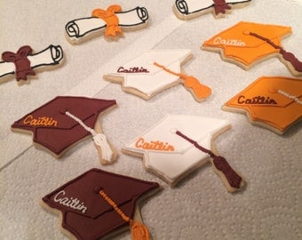Graduation Sugar Cookies - CUSTOM MADE