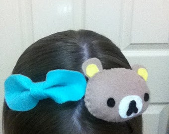 Kawaii Bear 3 in 1 headband, brooch and hair clip!