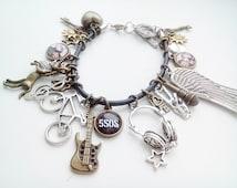 5 seconds of summer bracelet - 5 sos jewelry