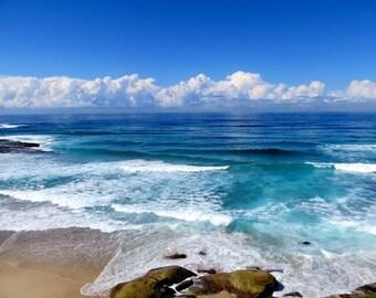 Ocean Photography, Beach photography, Tasman Sea, Australia, Ocean Beach
