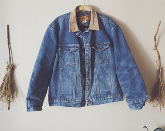 Vintage Wrangler denim jacket coat