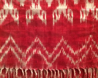 Scarf - Guatemalan Hand Dyed & Hand Woven