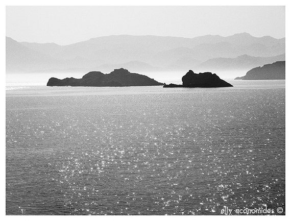 special edition, small photo, gift, Sea, landscape, black and white, fine art photography, landscape photography, seascape, photography