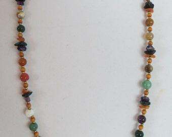 Carol Dauplais Gem Stone Necklace
