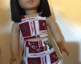 UNIVERSITY OF OKLAHOMA Doll Outfit