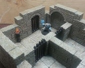 Dungeon Prison Cell for Dwarven Forge Pathfinder and Dungeons and Dragons