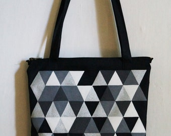 Bags with ul′tramodnym polygon image