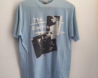 Vintage The Smiths 1980s Shirt Soft And Thin Size XL RARE!!