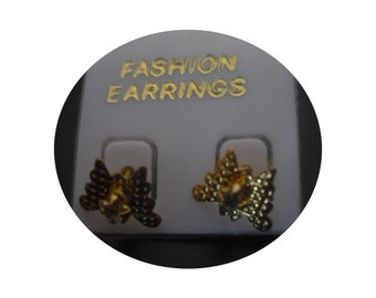 Earrings with butterfly