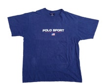 90s Polo Sport Spell out T-shirt