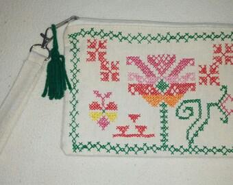 Bolso de muñeca(wristlet wallet) Bolso para cosméticos