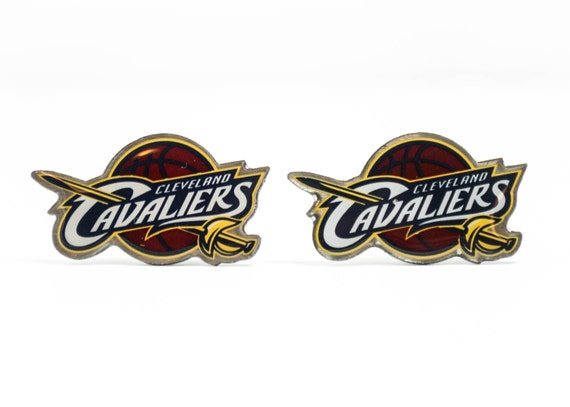 Cleveland Cavaliers Cuff Links -- FREE SHIPPING with USPS First Class Domestic Mail