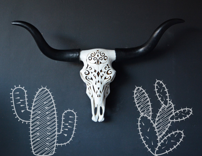Faux skull wall mount faux taxidermy longhorn faux longhorn zoom amipublicfo Choice Image