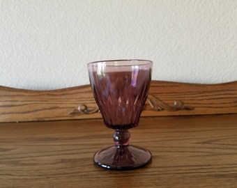 Moroccan Amethyst footed goblets