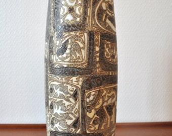 Impressive vase of more than 29 cm of Nils Thorsson Baca for Royal Copenhagen series