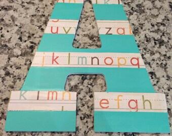 Handmade Wooden Letter