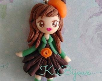 Parisian doll Fimo clay