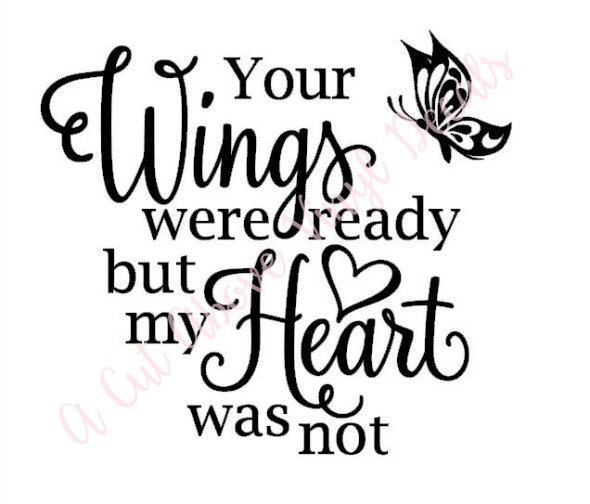 Top wings were ready our hearts images for pinterest tattoos for Your wings were ready but my heart was not tattoo
