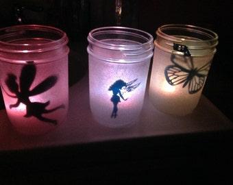 Night Light Jars