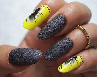 Floral oval nails, Nail designs, Nail art, Nails, Stiletto nails, False nails, Acrylic nails, Pointy nails, Fake nails